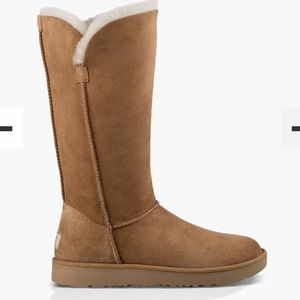 Authentic UGG classic cuff tall chestnut boots